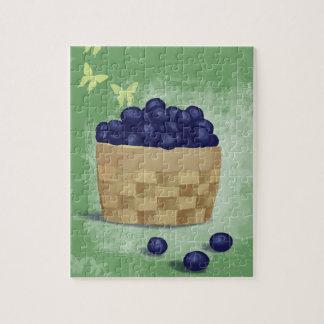 Fresh Blueberries Puzzle
