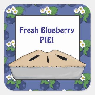 Fresh Blueberry pie vendors sticker