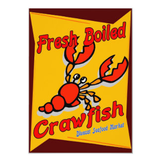 Fresh Boiled Crawfish Announcements