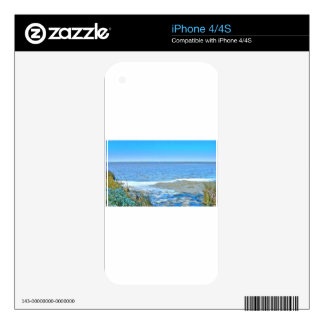 Fresh breeze at sea iPhone 4 decal