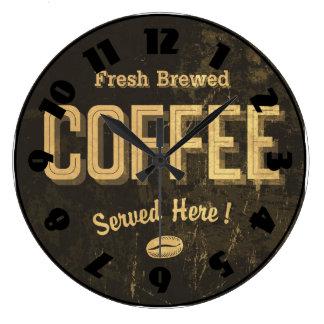 Fresh Brewed Coffee Clock