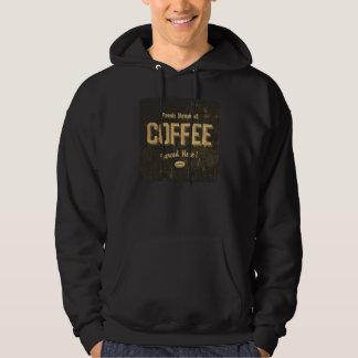 Fresh Brewed Coffee Mens Hoodie
