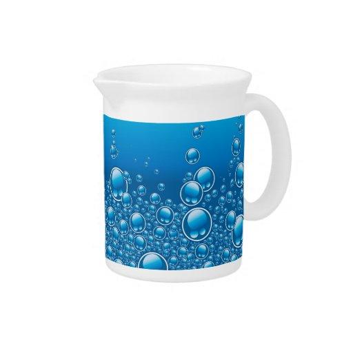 Fresh bubbles underwater beverage pitchers