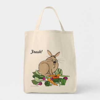 FRESH! Bunny Grocery Tote