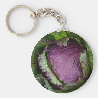 Fresh Cabbage Keychain