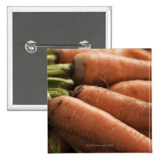 Fresh Carrots at the Union Square Greenmarket Pinback Button