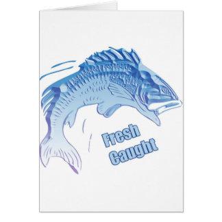 Fresh Caught Card