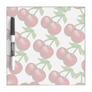 Fresh Cherries Dry-Erase Board