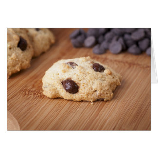Fresh Chocolate Chip Cookie Greeting Card