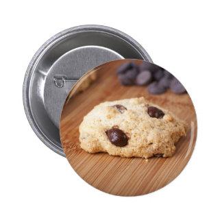 Fresh Chocolate Chip Cookie Pinback Button