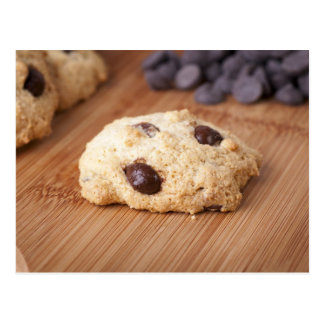 Fresh Chocolate Chip Cookie Postcard