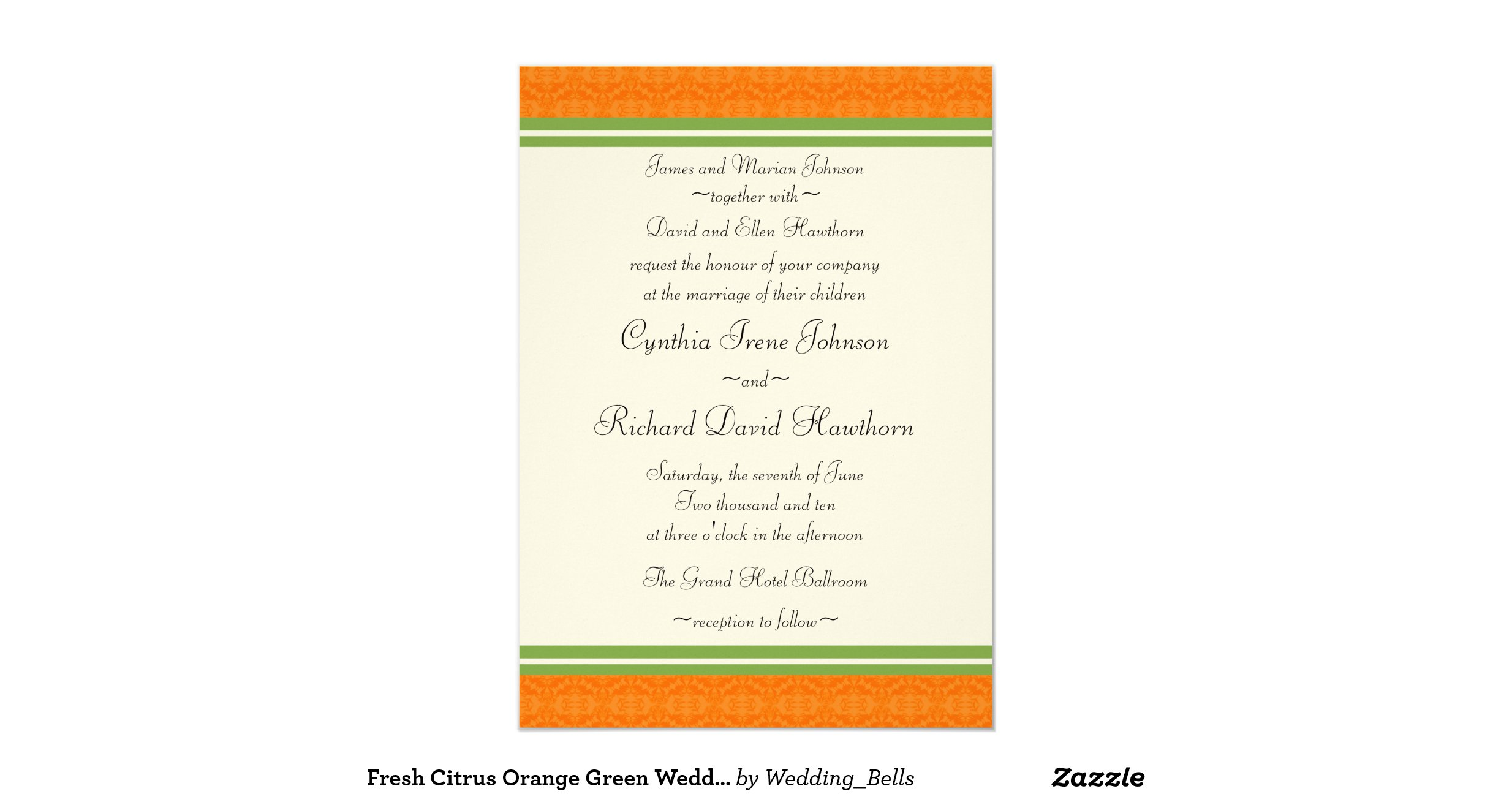 Fresh Citrus Orange Green Wedding Invitations R5e84e87754e14d8d8f961729c615bf32 Zkrqe 1200