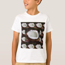 Fresh Coconut chefs healthy flavour cuisine foods T-Shirt