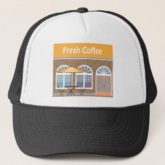 Fresh Coffee Cafe Trucker Hat