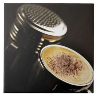 fresh coffee ceramic tile