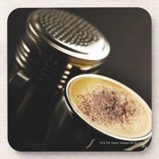 fresh coffee coaster