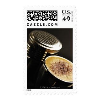 fresh coffee stamp