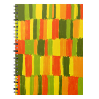 Fresh Colours No1 - Notitzbuch Notebook