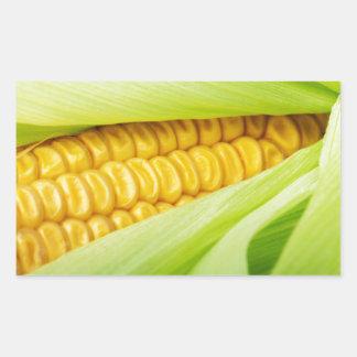 Fresh Corn Rectangular Sticker