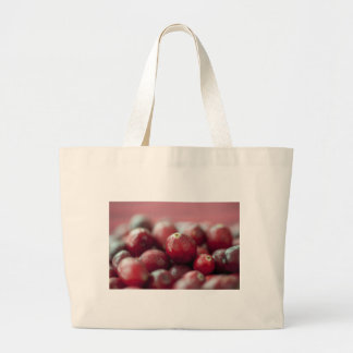 Fresh Cranberries Cloth Shopping Bag