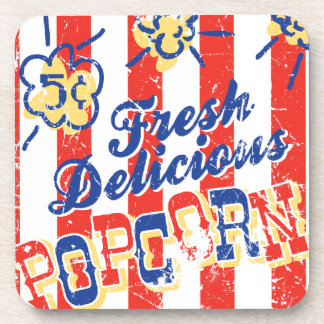 Fresh Delicious Popcorn Cork Coasters Set/6