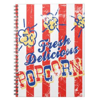 Fresh Delicious Popcorn Notebook