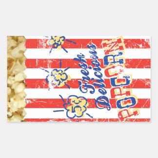 Fresh Delicious Popcorn Sticker