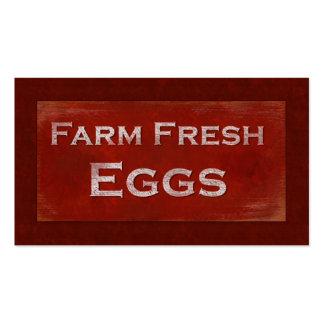 Fresh Eggs Business Card
