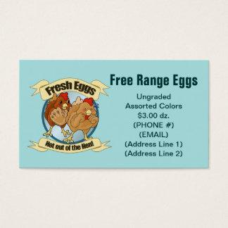 Fresh Eggs Business Cards