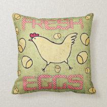Fresh Eggs Pillow