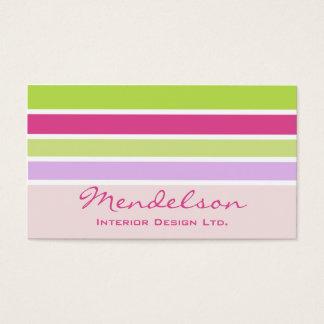 Fresh Face Designer Business Card