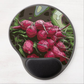 Fresh Farmers Radishes Ready for Cooking Gel Mouse Mats