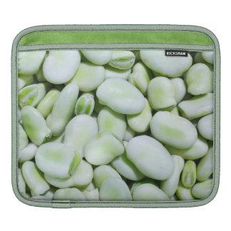 Fresh fava beans sleeve for iPads