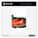 Fresh Fish iPod Touch 4G Decal