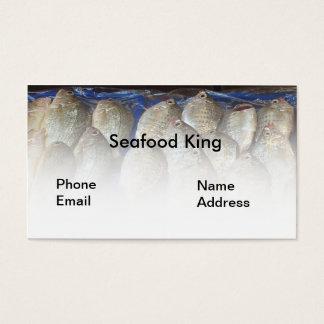 Fresh Fish on Display Business Card