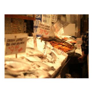 Fresh Fish Postcard