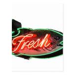 Fresh Fish Postcards