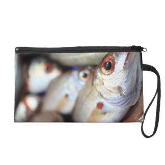 Fresh fish wristlet purse