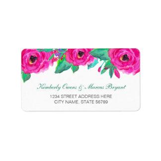 Fresh Florals Address Labels