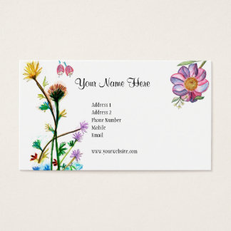 Fresh Flowers Card