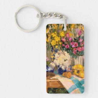 Fresh Flowers II Keychain