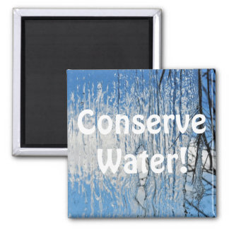 Fresh Flowing Water Conservation Eco Magnet
