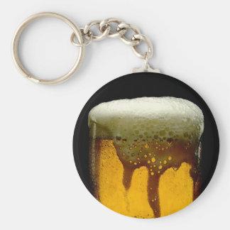 Fresh Foamy Mug Of Beer Keychain