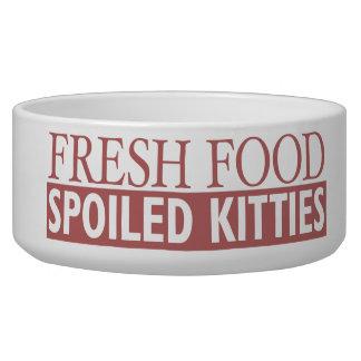Fresh Food — Spoiled Kitties Bowl