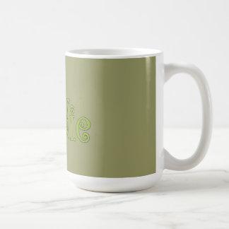 fresh foodie classic white coffee mug