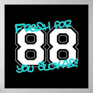 Fresh for '88 poster