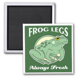 Fresh Frog Legs Magnet