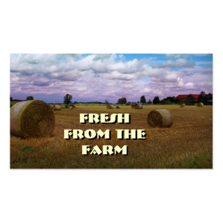 Fresh from the Farm Business Card