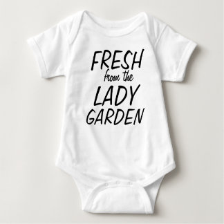 Fresh from the lady garden tee shirt