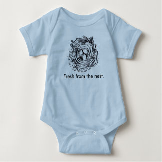 Fresh from the nest onsie t shirt